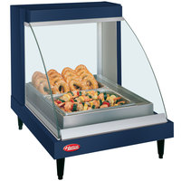 Hatco GRCDH-1P Navy 20 inch Glo-Ray Full Service Single Shelf Merchandiser with Humidity Controls - 660W