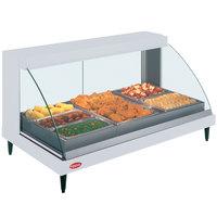 Hatco GRCDH-3P White 46 inch Glo-Ray Full Service Single Shelf Merchandiser with Humidity Controls - 1255W