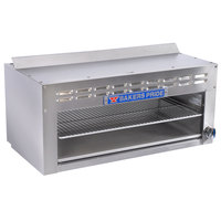 Bakers Pride BPCMi-72 Natural Gas 72 inch Cheese Melter