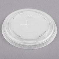 Dart Solo Conex L9N25 Translucent Lid with Straw Slot - 100/Pack