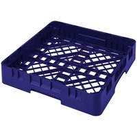 Cambro BR258186 Navy Blue Camrack Full Size Open Base Rack