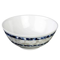 Thunder Group 5208DL Blue Dragon 1.75 Qt. Round Melamine Rice Bowl - 12/Case