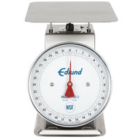 Edlund HD-2DP Heavy-Duty 32 oz. Portion Scale with 8 1/2 inch x 8 1/2 inch Platform and Air Dashpot