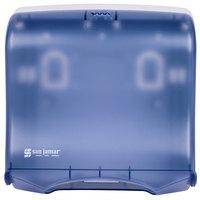 San Jamar T1755TBL Ultrafold Fusion C-Fold / Multi-Fold Towel Dispenser - Arctic Blue