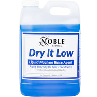 Noble Chemical 2.5 gallon / 64 oz. Dry It Low Rinse Aid gallon / Drying Agent for Low Temperature Dish Machines - 2/Case