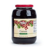 Currant Jelly 4 lb. Glass Jar - 6/Case