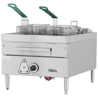 Garland E24-31F 30 lb. Countertop Electric Deep Fryer - 240V, 3 Phase, 12 kW