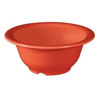 GET B-105-RO Diamond Mardi Gras 10 oz. Rio Orange Melamine Bowl - 48 / Case