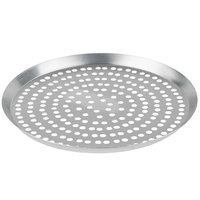 American Metalcraft CAR10SP 10 inch Super Perforated Heavy Weight Aluminum Cutter Pizza Pan