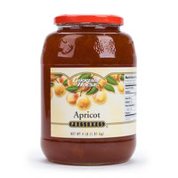 Apricot Preserves 4 lb. Glass Jars - 6/Case