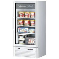 Turbo Air TGF-10SD White 26 inch Super Deluxe Glass Door Merchandising Freezer