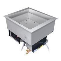 Hatco HCWBI-4DA Four Pan Dual Temperature Hot / Cold Drop In Food Well - 4000W