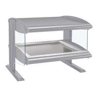 Hatco HZMH-24 White Granite 24 inch Horizontal Single Shelf Heated Zone Merchandiser - 120V
