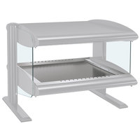 Hatco HZMH-60 White Granite 60 inch Horizontal Single Shelf Heated Zone Merchandiser - 120V