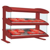Hatco HXMS-60 Warm Red Xenon 60 inch Slanted Single Shelf Merchandiser - 120V