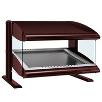Hatco HZMS-30 Antique Copper 30 inch Slanted Single Shelf Heated Zone Merchandiser - 120V