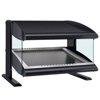 Hatco HZMS-36 Gray Granite 36 inch Slanted Single Shelf Heated Zone Merchandiser - 120V