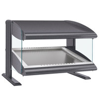 Hatco HZMS-54 Gray Granite 54 inch Slanted Single Shelf Heated Zone Merchandiser - 120V