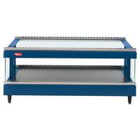 Hatco GR3SDS-33 Navy Blue Glo-Ray 33 inch Slanted Single Shelf Heated Glass Merchandising Warmer - 120V
