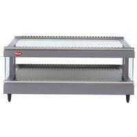Hatco GR3SDS-27 Gray Granite Glo-Ray 27 inch Slanted Single Shelf Heated Glass Merchandising Warmer - 120V