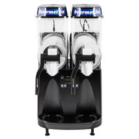 Bunn 34000.0515 Ultra-2 HP LAFI High Performance Black Double 3 Gallon Liquid Autofill Slushy / Granita Frozen Drink Machine - 120V