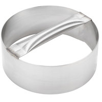 American Metalcraft RDC8 8 inch x 3 inch Stainless Steel Dough Cutting Ring