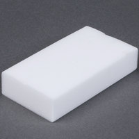 "Royal Paper S724 Individually Wrapped 4 5/8"" x 2 1/2"" Wipe Out Eraser Sponge - 24/Case"