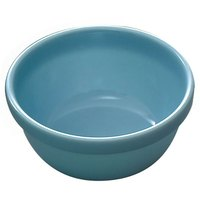 Thunder Group 5904 Blue Jade 7 oz. Round Melamine Bowl - 12/Case