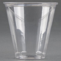 Dart Solo UltraClear TP7 7 oz. Clear PET Plastic Cold Cup - 1000/Case