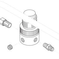 Bunn 29802.1000 Regulator Valve Assembly for PAF Powder Autofill Systems