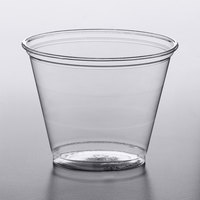 Solo UltraClear TP9R 9 oz. Clear PET Plastic Squat Cold Cup - 1000/Case