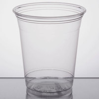 Solo UltraClear TP12 12 oz. Practical Fill Clear PET Plastic Cold Cup - 1000/Case