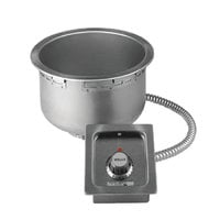 Wells SS10TDUI 11 Qt. Insulated Round Drop-In Soup Well with Drain - Top Mount, Thermostatic Control