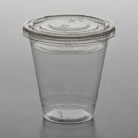 12 oz. Parfait Cup with 4 oz. Fabri-Kal Insert and Flat Lid - 100/Pack