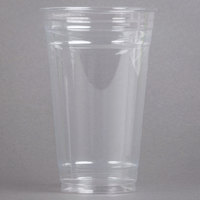 Solo UltraClear TD24 24 oz. Clear PET Plastic Cold Cup - 600/Case