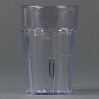 Cambro NT5152 Newport 6.4 oz. Clear Customizable Plastic Tumbler - 36/Case