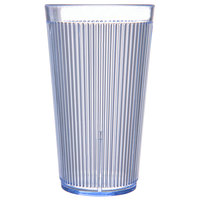 Carlisle 403414 Crystalon RimGlow 16 oz. Ocean Blue Polycarbonate Tumbler - 48/Case