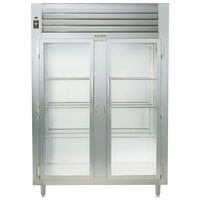 Traulsen AHT226WUT-FHG Two Section Glass Door Shallow Depth Reach In Refrigerator - Specification Line