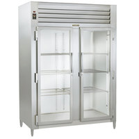 Traulsen AHT226WUT-FHG 40.8 Cu. Ft. Two Section Glass Door Shallow Depth Reach In Refrigerator - Specification Line