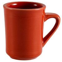 CAC TG-17-R Tango 8 oz. Red Mug - 36/Case