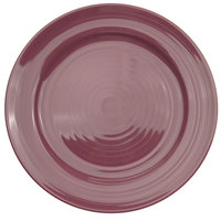 CAC TG-16-PLM Tango 10 1/2 inch Plum Round Plate - 12/Case