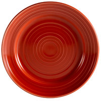 CAC TG-7-R Tango 7 1/2 inch Red Round Plate - 36/Case