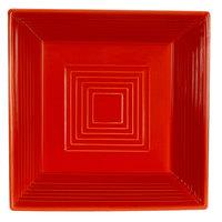 CAC TG-B6-R Tango 15 oz. Red Square Bowl - 24/Case