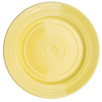 CAC TG-7-SFL Tango 7 1/2 inch Sunflower Round Plate - 36/Case