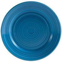 CAC TG-7-PCK Tango 7 1/2 inch Peacock Round Plate - 36/Case