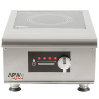 APW Wyott IHP-1 Champion Single Hob Countertop Hot Plate Induction Range - 3500W