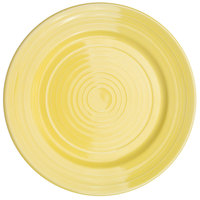 CAC TG-6-SFL Tango 6 1/2 inch Sunflower Round Plate - 36/Case