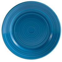 CAC TG-9-PCK Tango 9 7/8 inch Peacock Round Plate - 24/Case