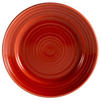 CAC TG-21-R Tango 12 inch Red Round Plate - 12/Case