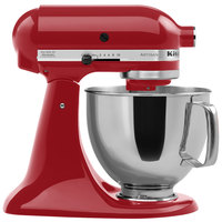 KitchenAid KSM150PSER Empire Red Artisan Series 5 Qt. Countertop Mixer